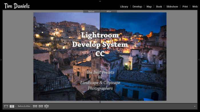 Lightroom Develop System CC
