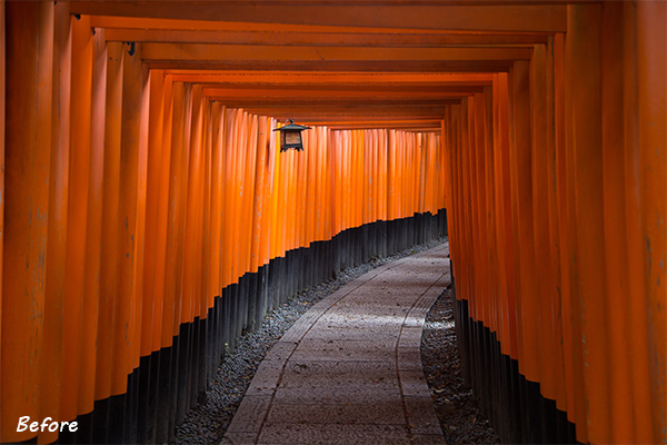 Kyoto Before the Lightroom Develop System