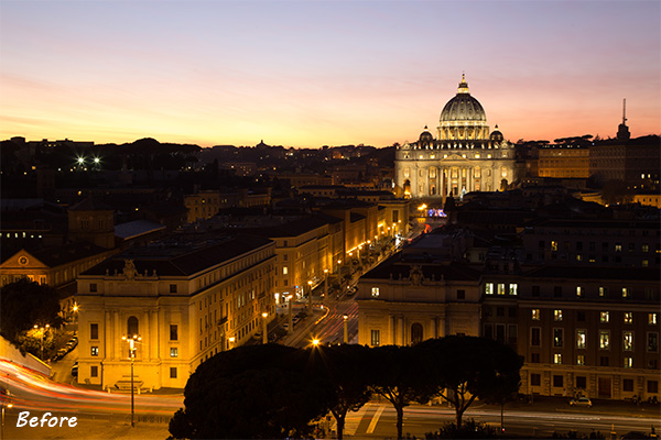 Rome Before The Lightroom Develop System