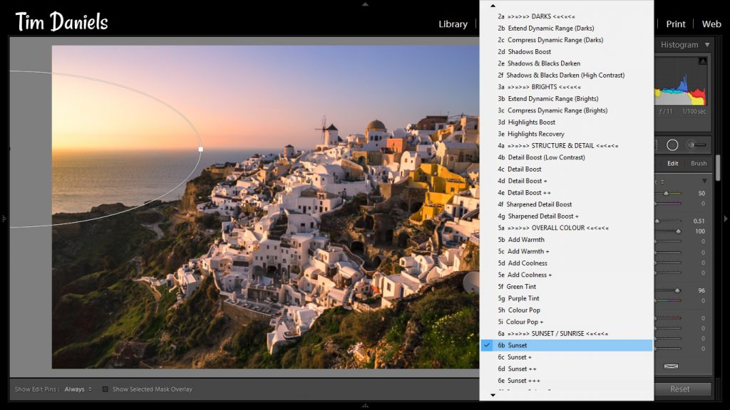 The Lightroom Develop System in Action
