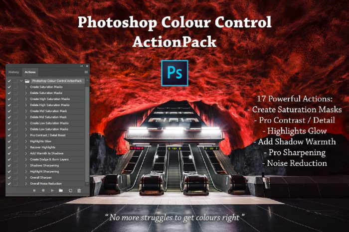 Photoshop Colour Control ActionPack