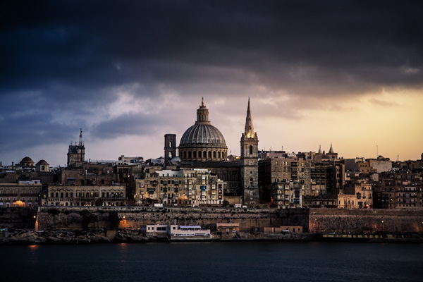 Malta after colour grading