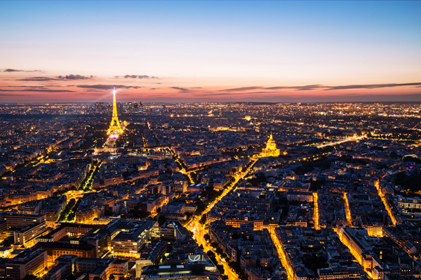 Paris After Colour Grading