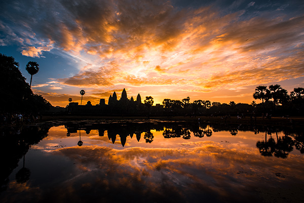 Angkor Wat After Colour Grading