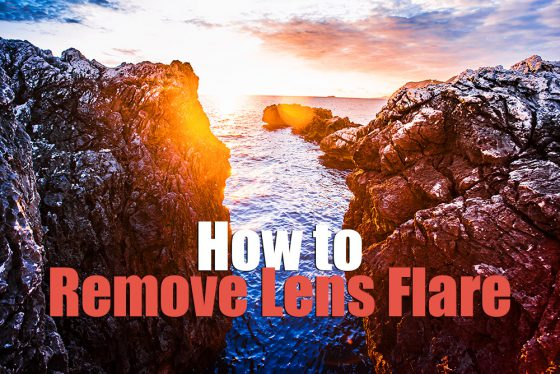 How to Remove Lens Flare