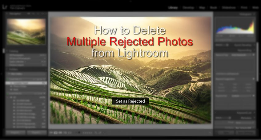 How to Delete Photos from Lightroom