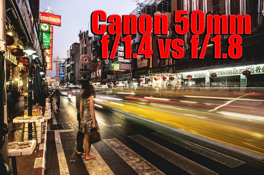 Canon 50mm 1.4 vs 1.8