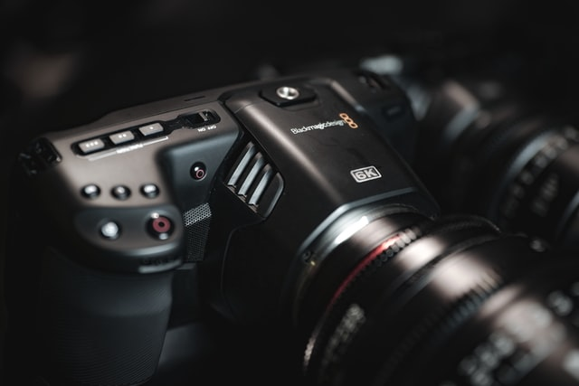 The Blackmagic 6K, a professional slow motion camera