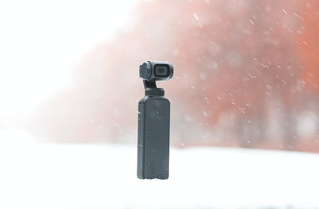 The DJI Pocket 2 with 240 fps recording  for powerful slow motion videos.