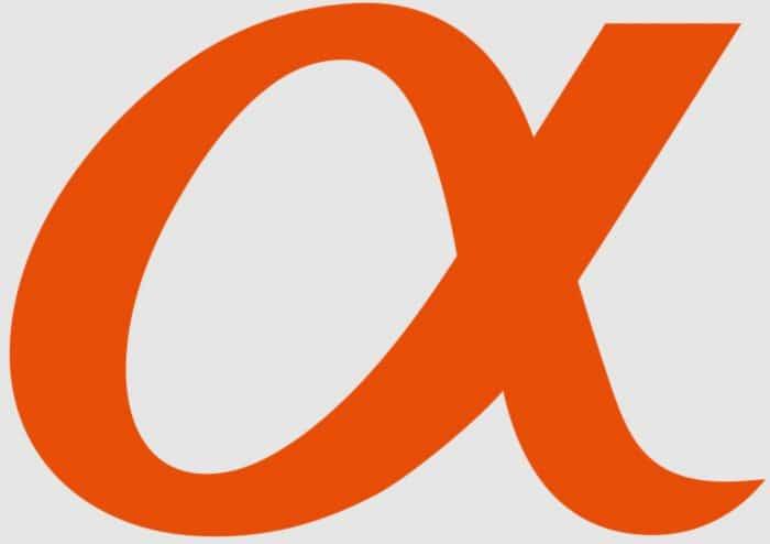 Sony camera brand logo