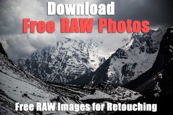 Free RAW Landscape Images for Retouching