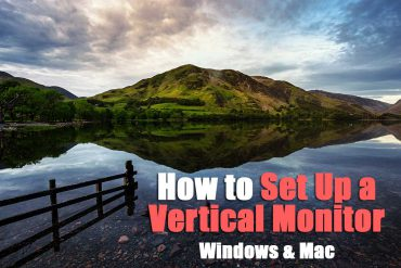 How to Set Up a Vertical Monitor