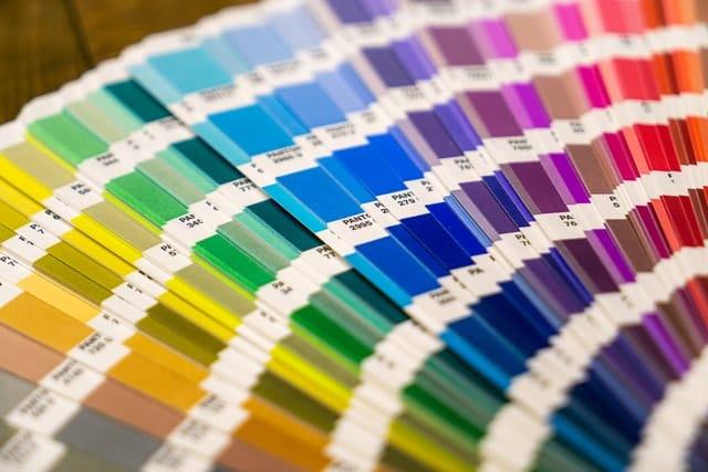 pantone charts for printing