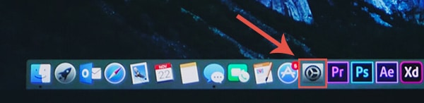 vertical monitor setup Mac