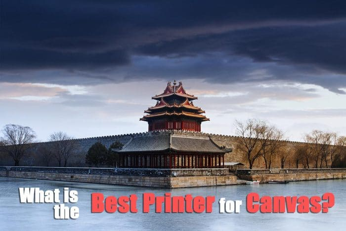 Best Printer for Canvas