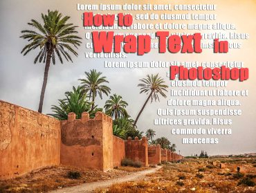 How to Wrap Text in Photoshop