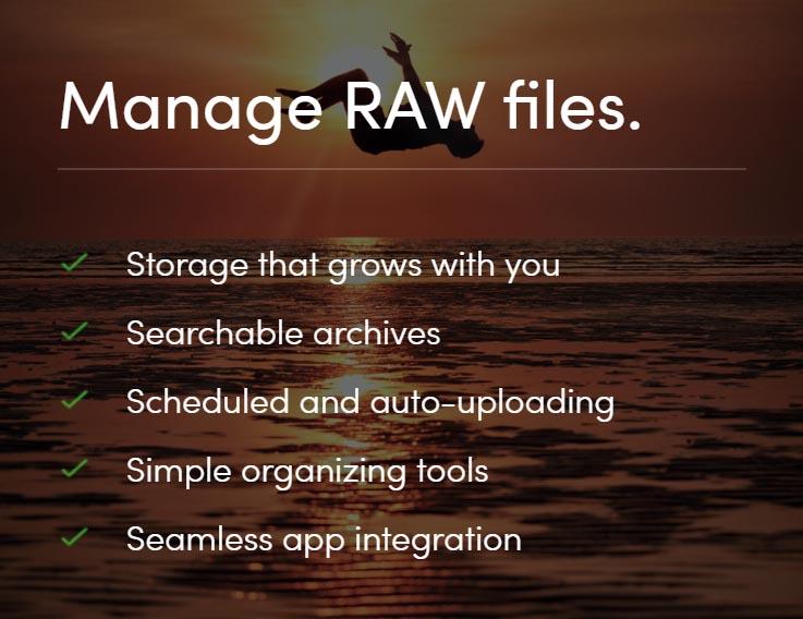 Smugmug photo storage