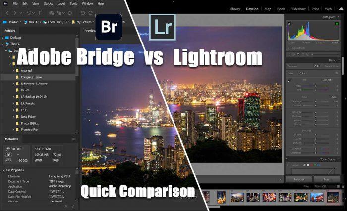 Adobe Bridge vs Lightroom