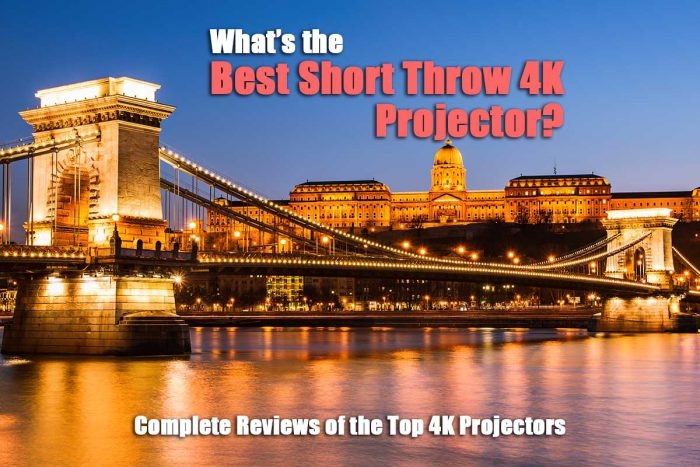 What is the best short throw 4K projector?