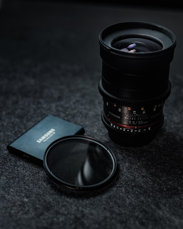 Camera and ND filter