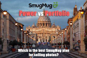 SmugMug Power vs Portfolio: The Ideal Plan to Sell Your Photos?